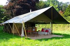 Dawn Chourus Holidays offers a wonderful experience with the family, glamping in North Suffolk in the Waveney Valley. There are two decadent tents which can each sleep a family of 6 - 8 in style with running water, private toilet, shower and wood burning cooker, boosted with an additional electric stove. Dawn Chorus Holidays is based on a family-run working farm with free range chickens, sheep and a few cattle. Conveniently located in the small village of Barsham, on the Suffolk/Norfolk…