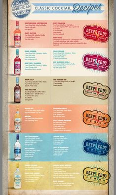 Deep Eddy - my favorite flavored vodkas!