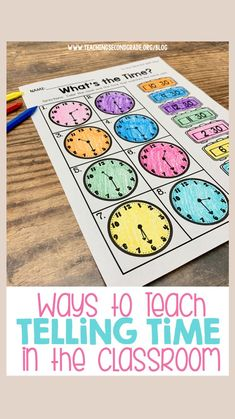 Teaching Second Grade, Teaching Time, Second Grade Math, Teaching Math, Teaching Ideas, Second Grade Centers, Learning Multiplication, Creative Teaching, Third Grade