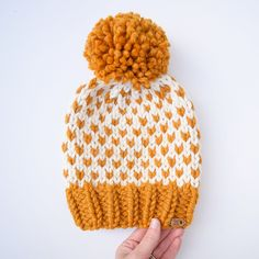 Ravelry: Tara Fair Isle Hat pattern by Country Pine Designs || Kathleen