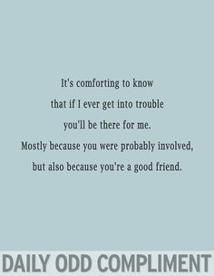 Image result for daily odd compliment