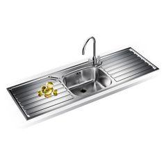 Kitchen Sinks Stainless Steel | Franke UK UKX612 Stainless Steel Kitchen Sink