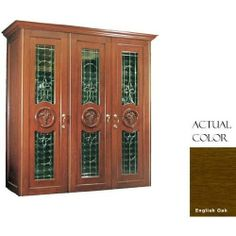 Vinotemp Vino-900conb-engoak 560 Bottle Capacity Concord 900 Series Wine Cellar - Glass Door / English Oak Cabinet by VinoTemp. $10339.00. Two fluorescent lights. Three brass finish security locks. Elegant beveled decorative glass doors add style. Doors designed with carved grape motif. Wine-Mate self-contained cooling system. Vinotemp VINO-900CONB-ENGOAK 560 Bottle Capacity Concord 900 Series Wine Cellar - Glass Door / English Oak Cabinet. VINO-900CONB-ENGOAK. Wine Cellars. V...