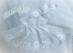 Croche pro Bebe: Pequeños vestidos que se encuentran en la red, pura inspiración ....