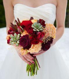 Winter bouquet @Botanica Floral Design @Aralani @Jennifer Fox Perfect Planning