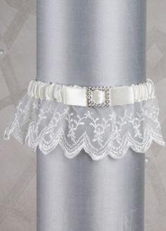Crystal Elegance Bridal Garter