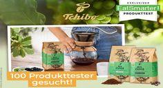 Produkttester Bio Kaffee von Tchibo Sie trinken gerne Kaffee? Dann machen Sie jetzt mit und werden Sie einer von 100 Produkttestern! Mit etwas Glück können Sie schon bald den neuen Bio-Kaffee von Tchibo testen. Jetzt bewerben! Food, Foods, Drinking, Meals