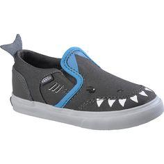 fdb4cca801b555 VANS Toddler Boys  Asher V Shark Low Slip-On Shoes - SportsAuthority.com