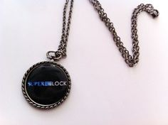SuperWhoLock necklace :)