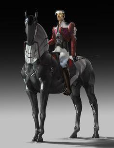 Nobleman by Rahmatozz - Mikhail Rakhmatullin - CGHUB Fantasy Wizard, Fantasy Rpg, Character Concept, Character Art, Character Design, Science Fiction, Samurai, Robot Animal, Cyberpunk Character