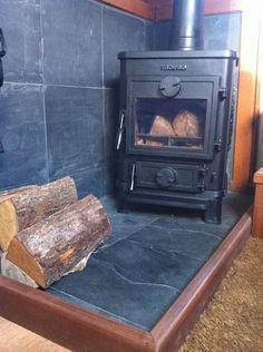 a fireplace to keep you warm