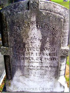 Southern Graves: Death and Obituary of Mrs. Clifford Gilbert Holtzclaw