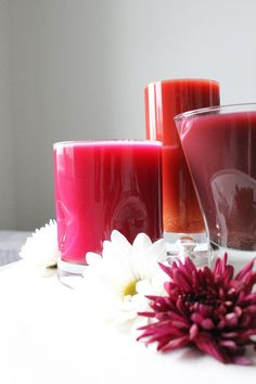 Three Shades Of Red (Vibrant Drinks Using Red/Purple Cabbage) — FreshnCrunchy