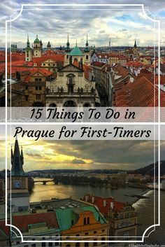 Planning to travel to Prague? Here are15 Things to Do in Prague For First-Timers + a FREE PDF to take the list with you on your Prague trip!