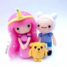 Adventure Time Amigurumi