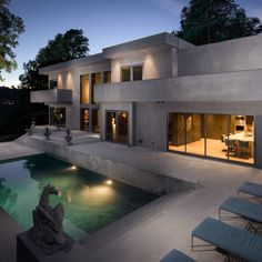 Annie Chu Rick Gooding Architects James White Residence Nichols Canyon Home Design