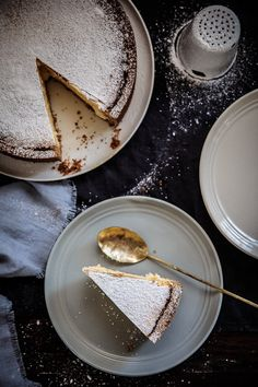 A traditional New York baked cheesecake, a favourite that doesn't need to be changed. | Food Photography | Food Styling | Food Props | Anisa Sabet | The Macadames