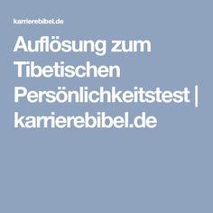 Auflösung zum Tibetischen Persönlichkeitstest | karrierebibel.de