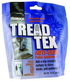 Homax Group Inc 8600 Tread Tex Anti Skid Paint Additive, 16 Oz Online Painting, Painting Tips, Gallon Of Paint, Painted Stairs, Basement Stairs, Under Stairs, Cool Tools, Good To Know, Home Projects