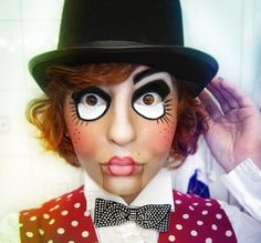 ventriloquist /dummy halloween costume