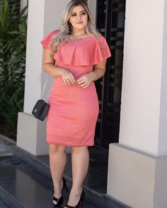 Women S Plus Size Resort Dresses Refferal: 9447461110 Curvy Outfits, Modest Outfits, Skirt Outfits, Casual Dresses, Fashion Dresses, Chubby Fashion, Curvy Girl Fashion, Plus Size Fashion, Big Size Dress