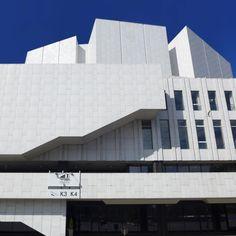 Finlandia Hall, Helsinki by Alvar Aalto.