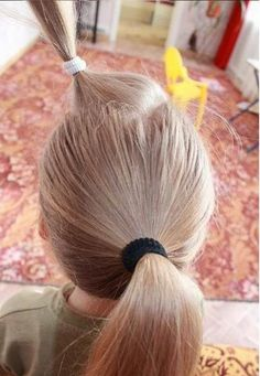 Une coiffure pour petite fille – Tresse petite fille | Coiffure simple et facile