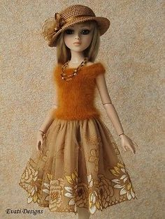Evati OOAK Outfit for Ellowyne Wilde Amber Lizette Tonner 1 | eBay. Ends 6/18/14. Sold for $48.00.