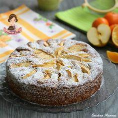 TORTA MELARANCIA CON CANNELLA E YOGURT Una torta soffice e molto golosa questa torta melarancia con cannella e yogurt, ha un profumo meraviglioso di agrumi, mela e cannella e una consistenza deliziosa e unica !