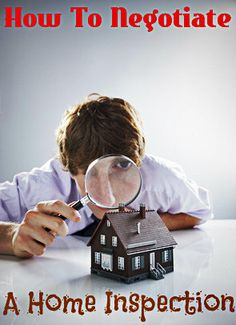 How To Negotiate A #Realestate Home Inspection: http://www.maxrealestateexposure.com/negotiate-issues-home-inspection/