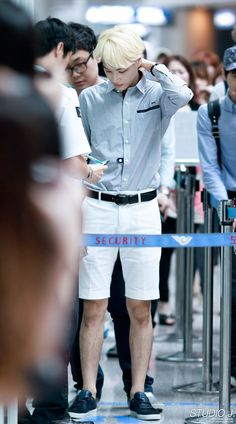 Kai (EXO-K) @ Incheon Airport 13.07.15 ~  Source : http://studiojongin.com/