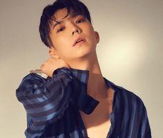 Wooyoung do 2PM mostra seu lado retro para 'The Star'