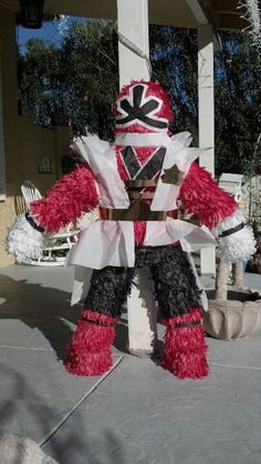 POWER RANGER SAMURAI RED JAYDEN PINATA