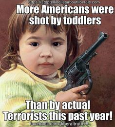 Wake up people! Stop letting the NRA and the GOP call the shot!. (no pun intended)