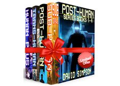 Love Reading? Get Post-Human Series Books 1-4 For FREE On August 30th!