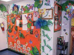 Spring Wall Board displaying Student's Artwork (KECEC-Spring 2008)
