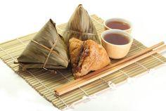 Zongzi (粽子),special food for Dragon Boat Festival
