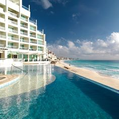 """Daily Moment of Zen: Sun Palace Resort in Cancun, Mexico. The Sun Palace is the smallest of the Palace resorts but it's closer to """"town"""" and a great place for lunch Cozumel, Cancun Resorts, Cancun Mexico, Hotels And Resorts, Mexico Honeymoon, Mexico Resorts, Honeymoon Ideas, Mexico City, Beach Resorts"""