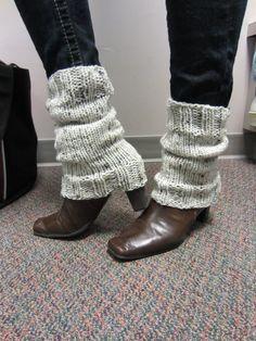 Short Knit Leg Warmers by mylittlehats on Etsy, $16.00