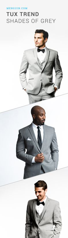 Tux Trend: Shades of Grey | a whole new way to rent a tuxedo | Menguin.com