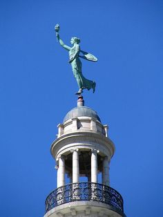 14 ft. Lady Liberty |  Fort Wayne, by Northeast Indiana, via Flickr