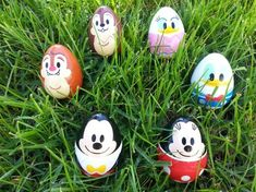 Egg Dyeing with Disney Characters Inspired by Disney California Adventure Park