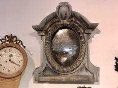 "French Zinc Oeil DeBoeuf (Bullseye) Dormer Window Mirror   Circa 1870   30"" Wide x 36"" High   $4200  The Hare Wares Antiques & Design  Interior Design and antiques are my passion! Anything.....Swedish, French, English and Italian I love!  Find the goods at Lost...again Antiques & Decor 148 Riveredge Dallas, TX 75207  Dealer #2368"