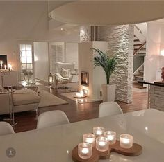 22 exclusive and personalized dining room interior design 6 Home Living Room, Interior Design Living Room, Living Room Designs, Living Room Decor, Interior Decorating, Interior Livingroom, Dining Room, Ikea Interior, Coastal Interior