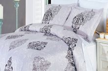 GoLinens Gizelle Duvet Cover Set with Reversible Pillow Shams – Fine Print Pattern, Combed Cotton – Durable Comforter Cover - 8 Piece, Queen Luxury Comforter Sets, Queen Comforter Sets, Comforter Cover, Bed Duvet Covers, Duvet Sets, Pillow Shams, Queen Duvet, Pillow Cases, Pottery Barn