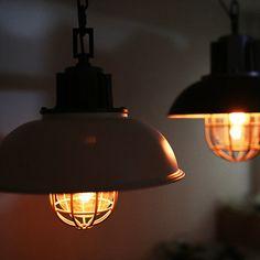 inspired by vintage kitchen lighting decor