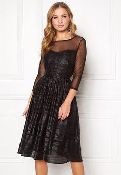 ec254031c9 SOAKED IN LUXURY Vogue Dress Black - Bubbleroom