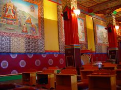 Kagyu Samye Ling, Tibetan Buddhist Monastery and Centre for World Peace and Health, Langholm, Scotland, summer 2006
