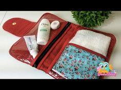 Como fazer Porta kit Higiene Bucal - YouTube