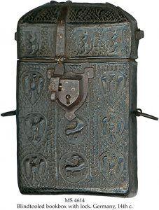 Black Cowhide Book Box | MS 1614
